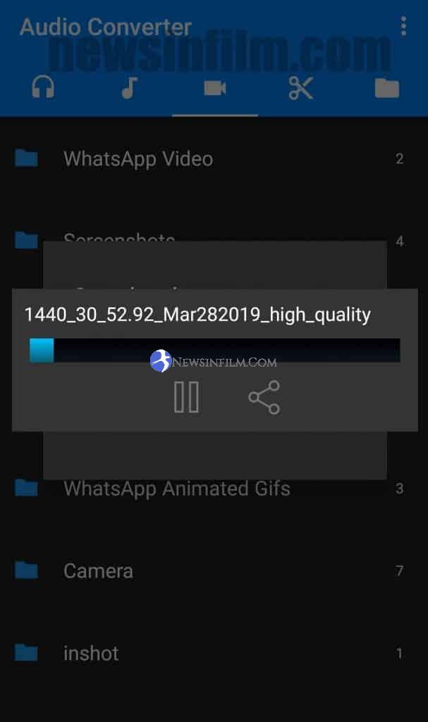 cara convert video ke mp3 di hp gratis