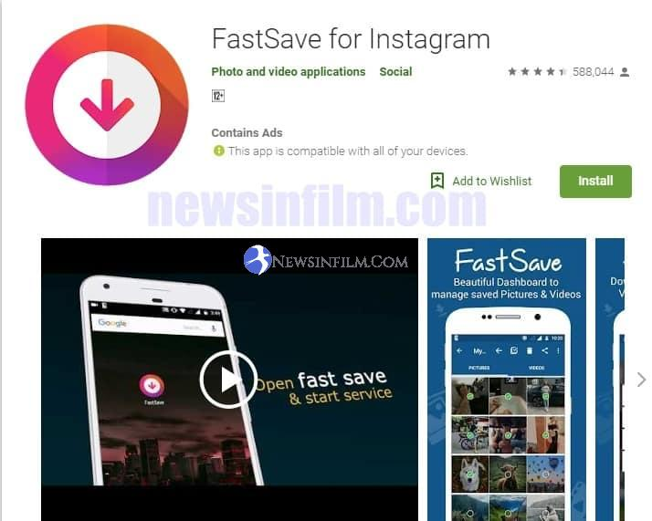 aplikasi downlaod video intagram