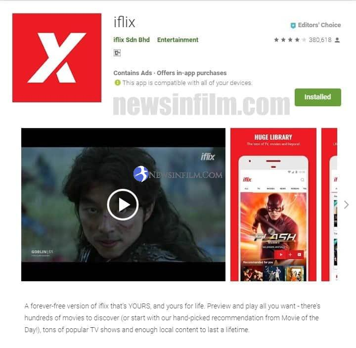 cara download film di iflix iphone