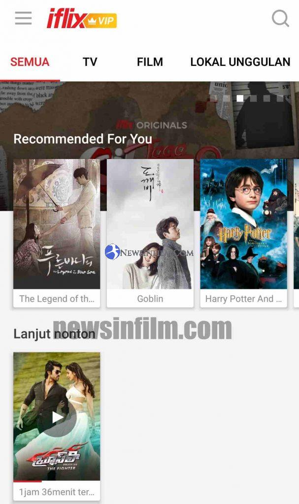 bagaimana cara download film iflix lewat hp