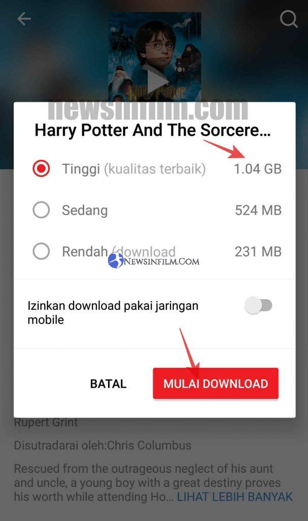 cara download film iflix lewat hp