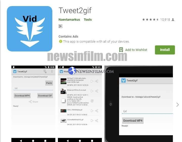 cara download video di twitter lewat ponsel