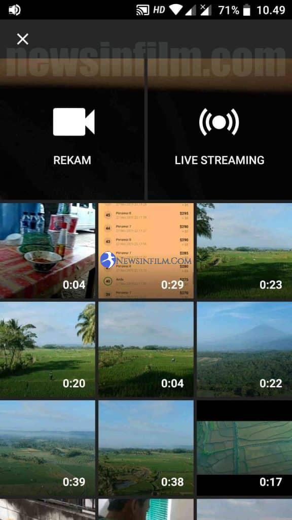 cara upload video ke youtub lewat hp android