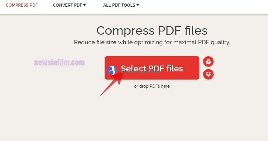 cara kompres file pdf di android