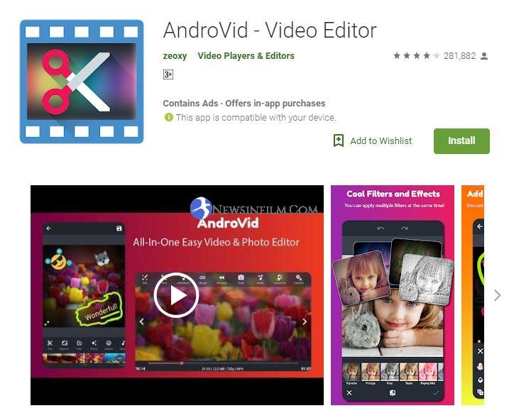 aplikasi edit video di android untuk youtube