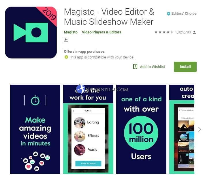 aplikasi edit video di android offline