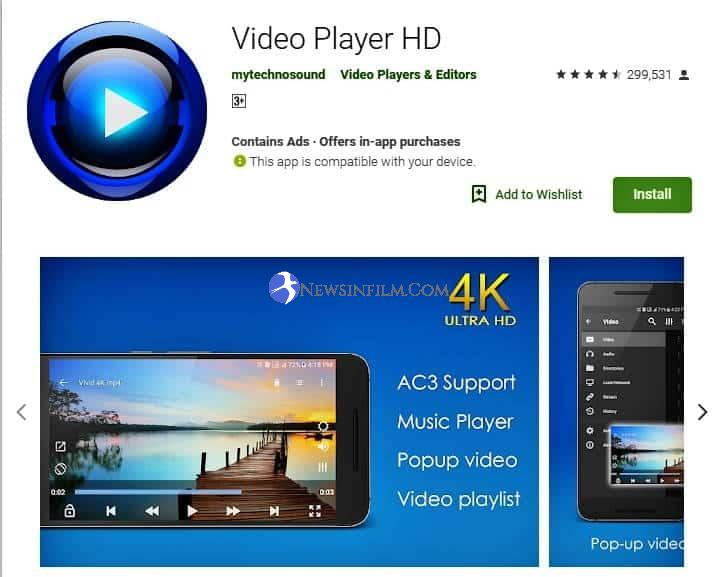 aplikasi pemutar video online