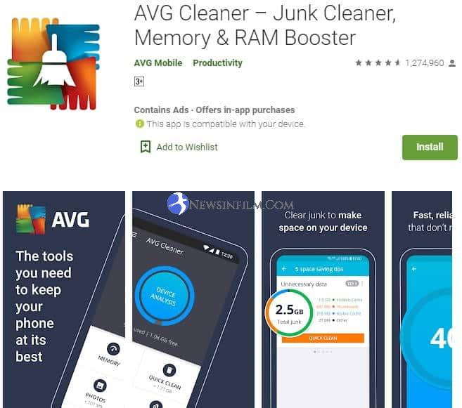 aplikasi avg cleaner