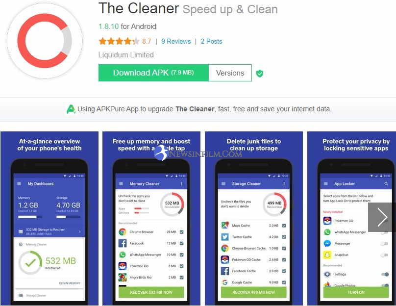 The Cleaner apk