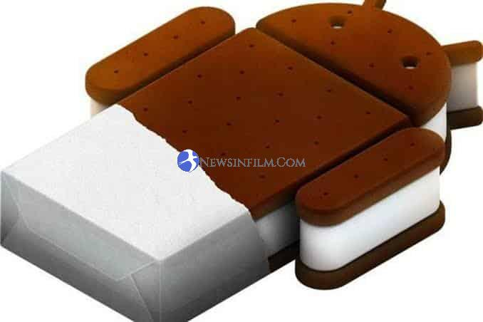 logo androiod Ice Cream Sandwich