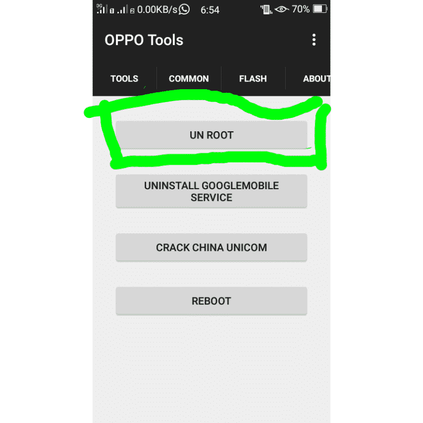 oppo-tools-unroot