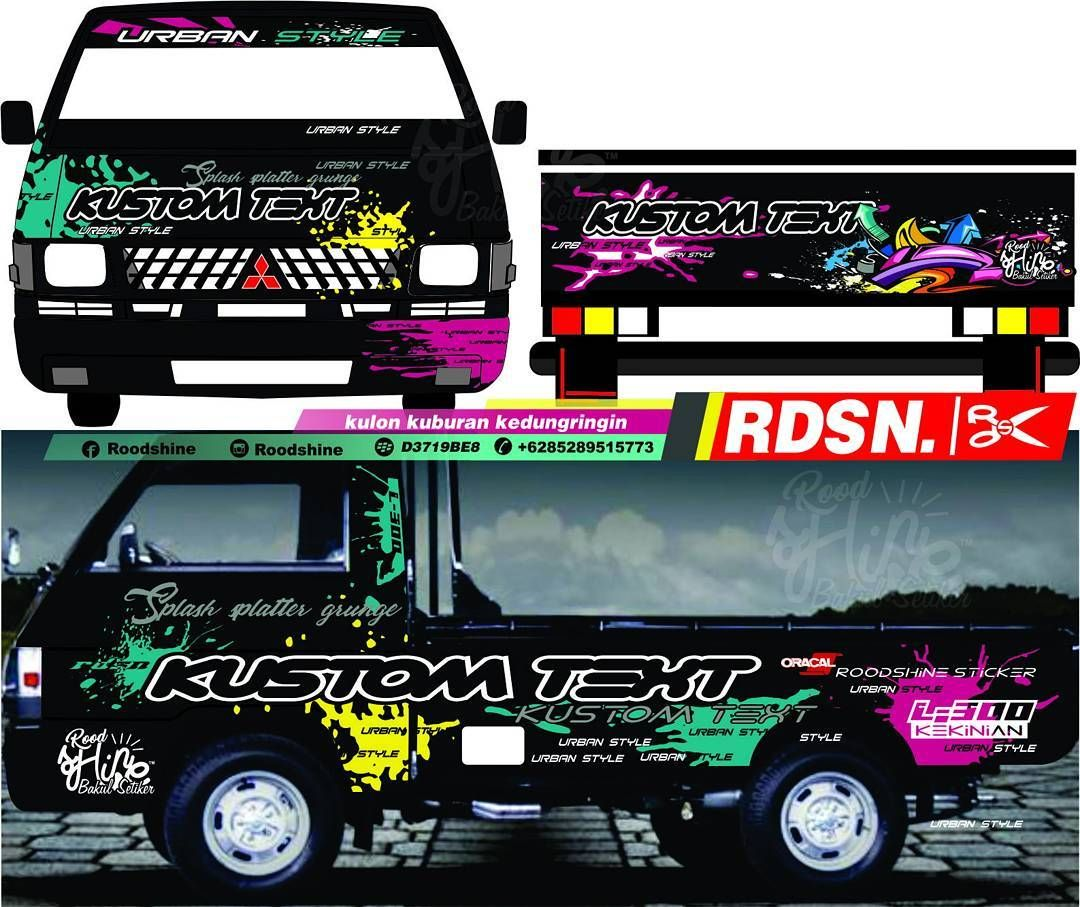 Livery-Bussid-Pickup