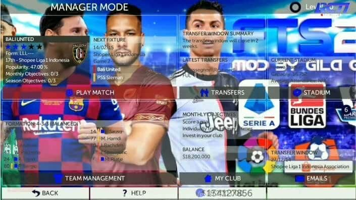 Manager-Modes