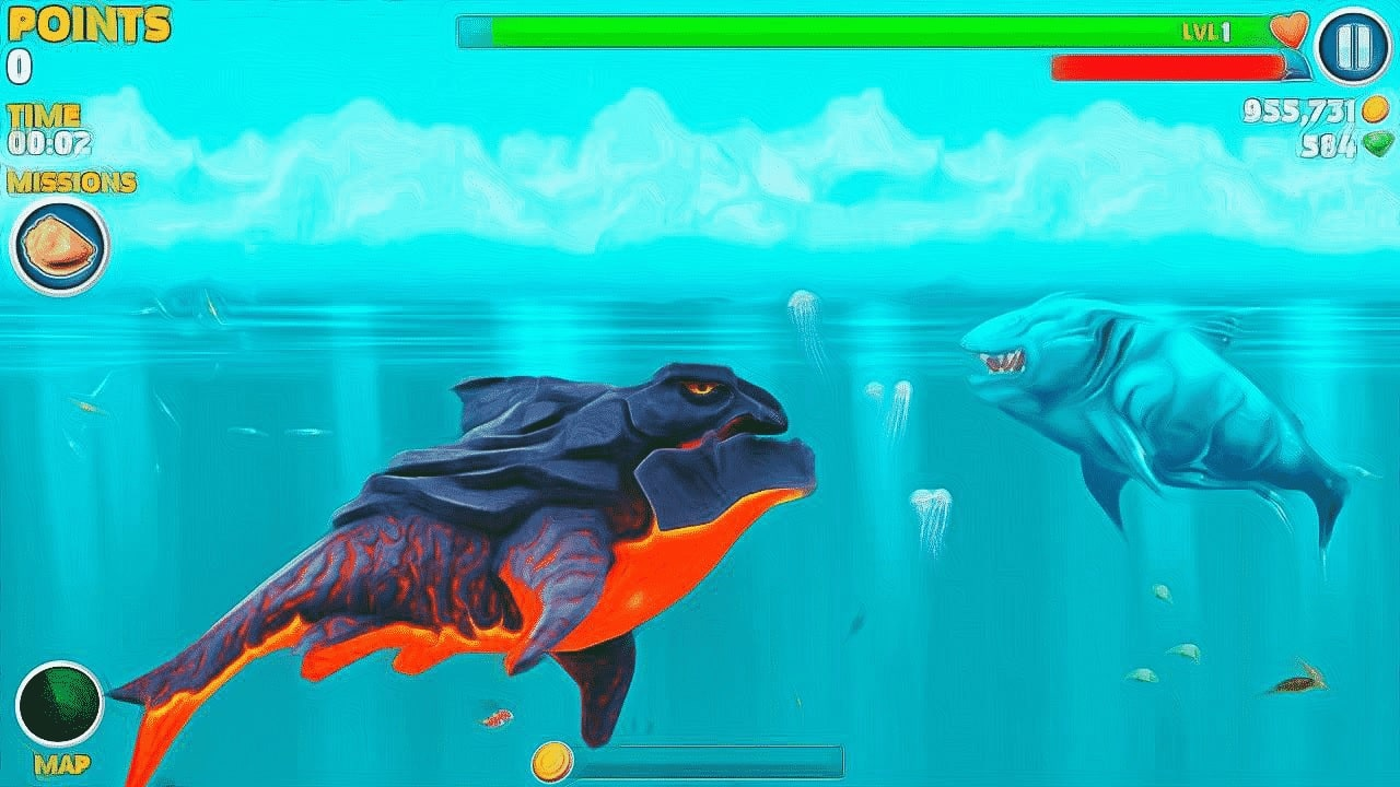Gameplay-Hungry-Shark-Evolution