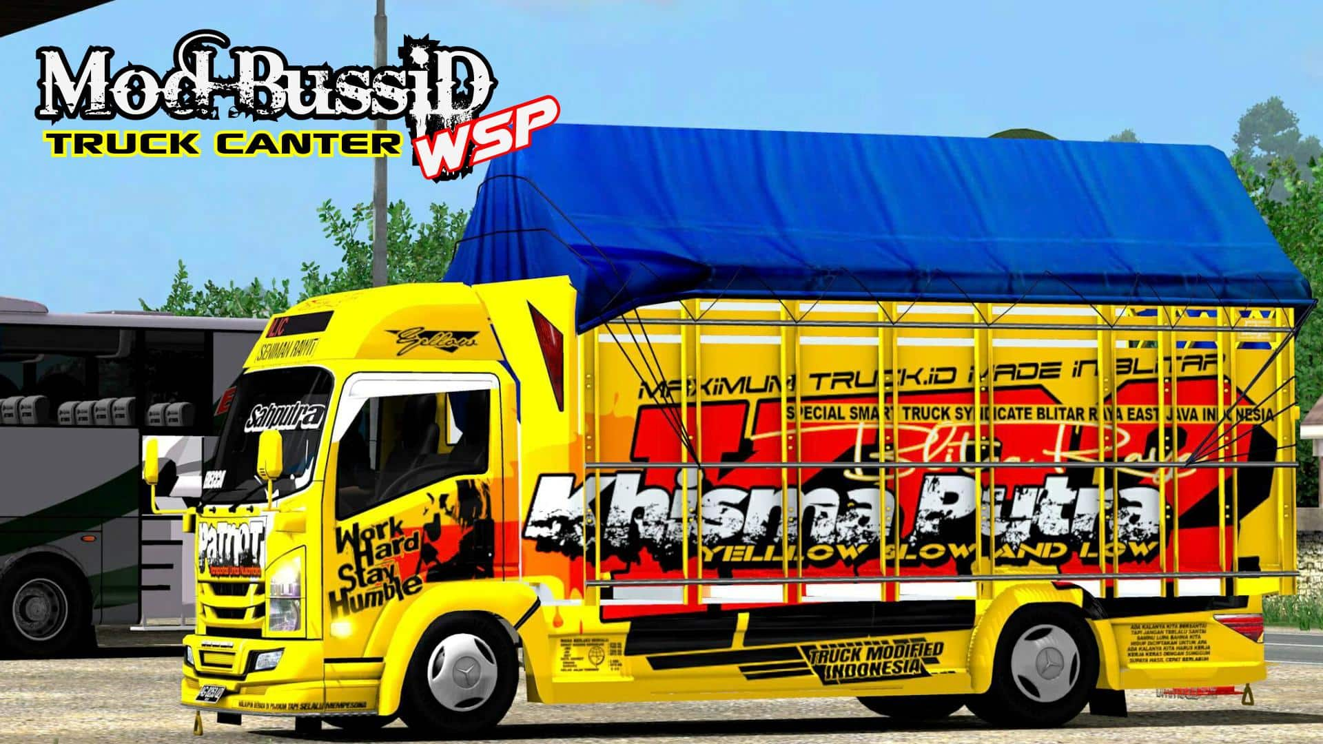 Link-Download-Mod-Bussid-Truck-Canter-Livery