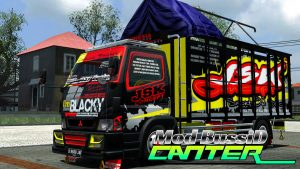 download-mod-bussid-truck-canter-livery